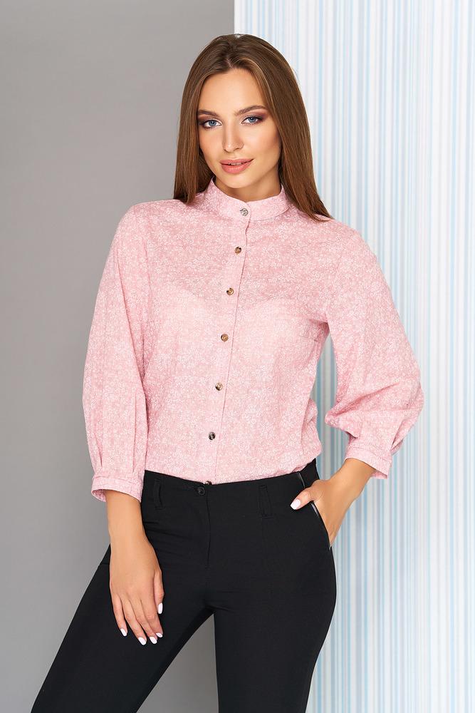 """Рубашка """"S-05"""" (розовый)  AZZ"""
