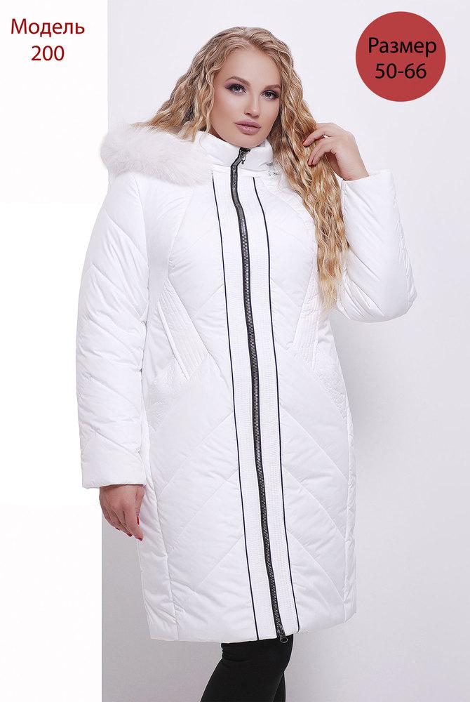 Пальто WLL зимнее №200 (белый)