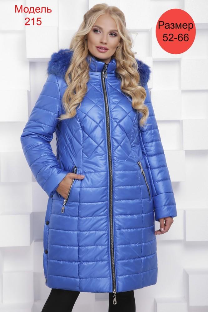 Пальто зимнее WLL №215 (электрик)