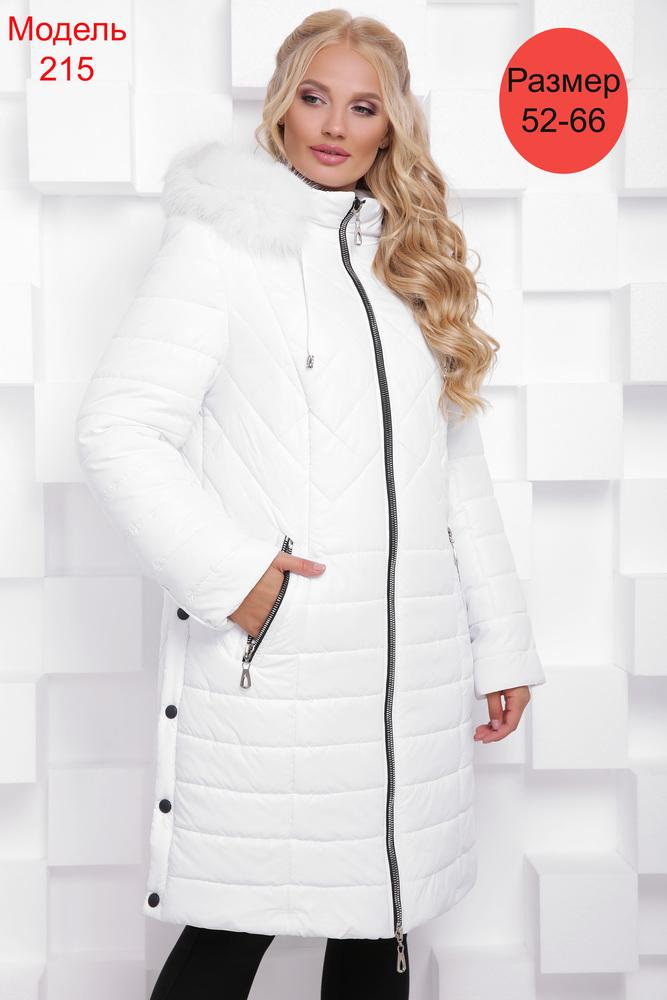 Пальто зимнее WLL №215 (белый)