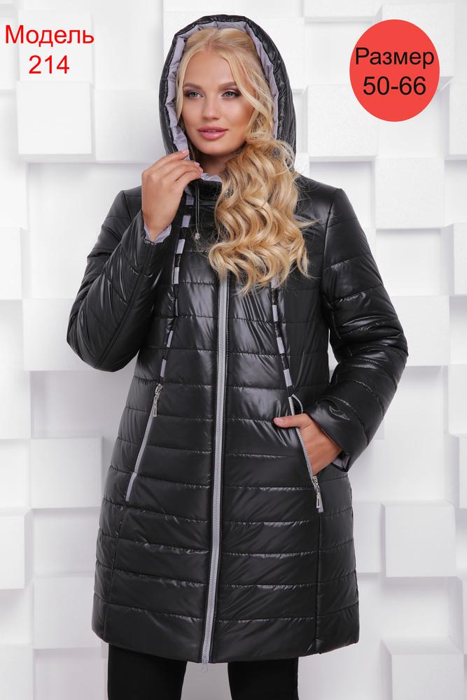 Пальто зимнее WLL №214 (черный)