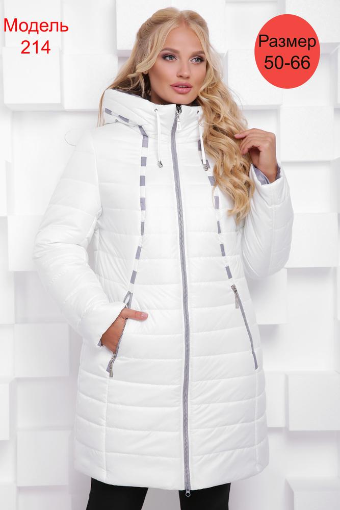 Пальто зимнее WLL №214 (белый)