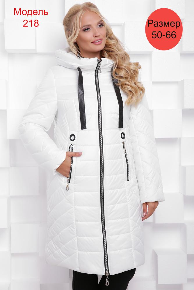 Пальто зимнее WLL №218 (белый)